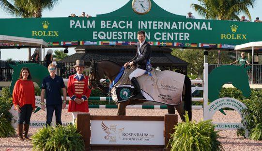 Beat Mändli and Simba Capture First $75,000 Rosenbaum PLLC Grand Prix