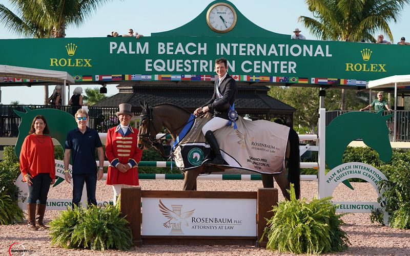 Beat Mändli and Simba Capture First $75,000 Rosenbaum PLLC Grand Prix