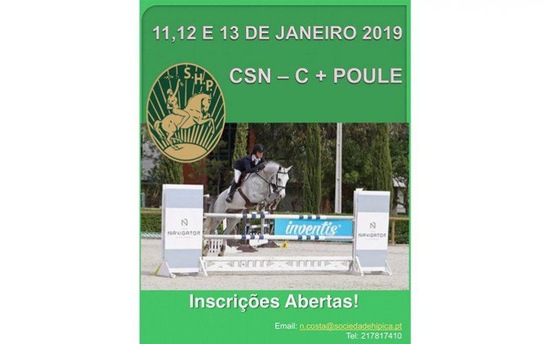 Abertas as inscrições para o primeiro Concurso de Saltos Nacional da temporada