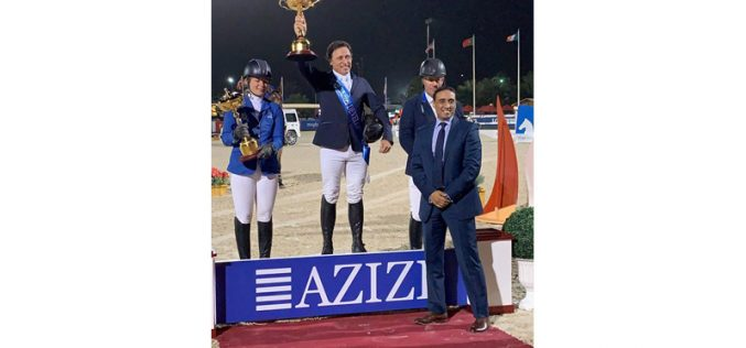 CSI5*-W Dubai: Tocou o Hino de Portugal para Luís Sabino Gonçalves nos Emirados Árabes Unidos (VÍDEO)