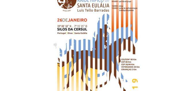 Raid Hípico de Santa Eulália é já neste sábado