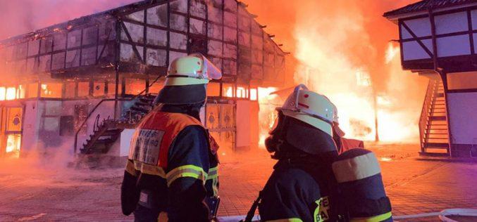 Incêndio nas boxes de Sönke Rothenberger (VÍDEO)