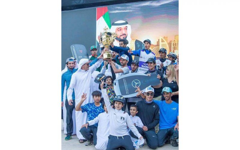 E.A.U. dominaram em Abu Dhabi