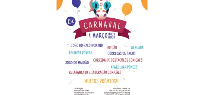 Carnaval 2019 no Pony Club do Porto