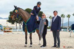 Italiana Giulia Martinengo conquista o Grande Prémio do Spring MET-II