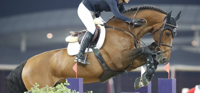 Edwina Tops-Alexander é a nova cavaleira de Bacardi VDL