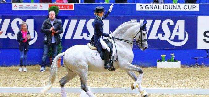 CDI4* Dortmund: Maria Caetano Couceiro partilha pódio com olímpicas