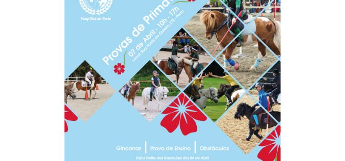 Actividades do Pony Club do Porto em Abril