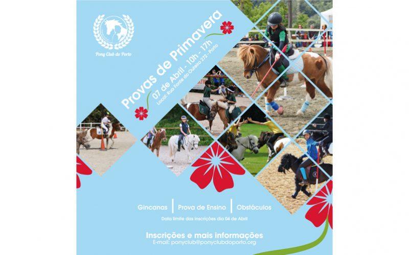 Actividades do Pony Club do Porto em Abril
