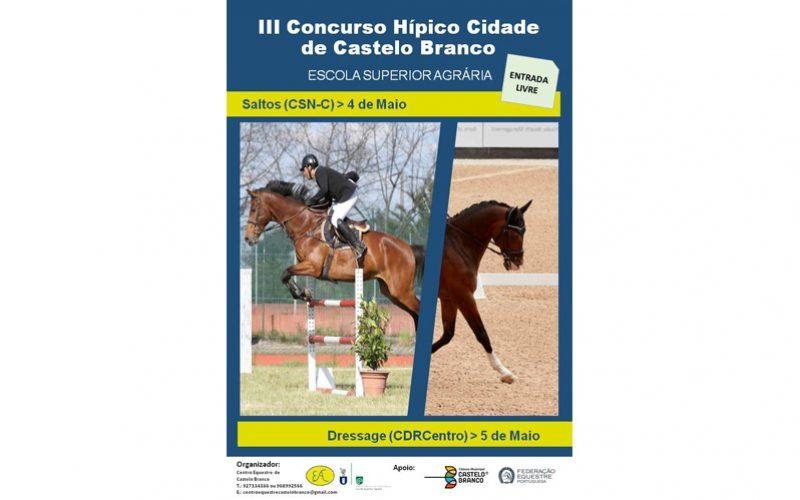 III Concurso Hípico Cidade de Castelo Branco – 4 e 5 de Maio