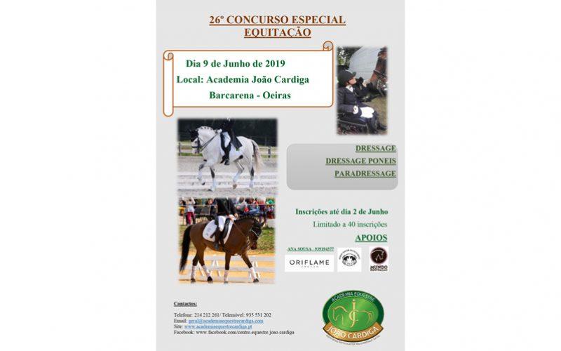 Concursos Especiais de Equitação já vão na 26ª edição