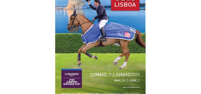 CSIO LISBOA 2019 – 88 Atletas e 174 Cavalos inscritos