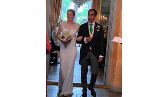 Nuno Palma e Santos casou com Antonia Jacobsen