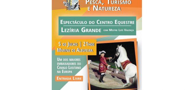 Espetáculos e competições equestres animam Feira da Caça, Pesca e Turismo de Albufeira