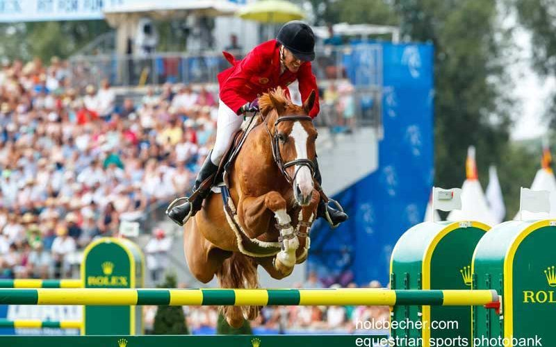Luciana Diniz inscrita no CSIO5* de Aachen