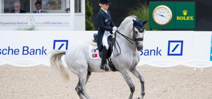 CDIO5* Aachen: Maria Caetano entre os melhores da modalidade