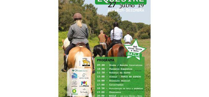 II Encontro Equestre vai realizar-se em Alfarim