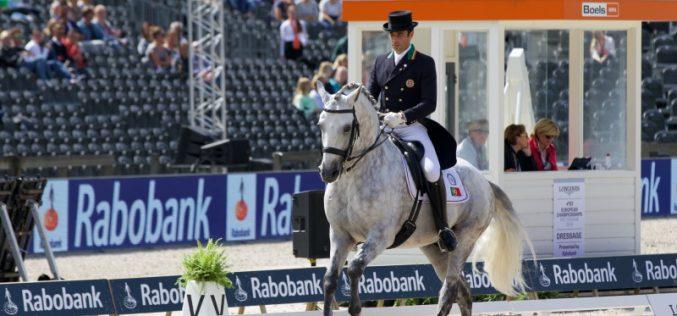 Campeonato da Europa de Dressage 2019: Portugal em sexto lugar provisório