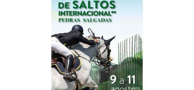 Concurso de Saltos Internacional em Pedras Salgadas de 9 a 11 Agosto