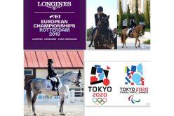 3 Atletas de Paradressage participam no Campeonato da Europa 2019 – Roterdão