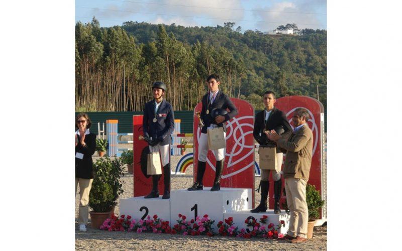 Taça de Portugal da Juventude 2019: Vasco, Daniel, Mariana, Eva e Fernanda, com o ouro de campeões