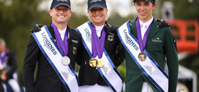 Ingrid Klimke and Hale Bob do the European double in Luhmühlen medal battle