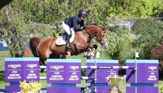 Madden is magnificent with another Longines victory in New York (VIDEO)