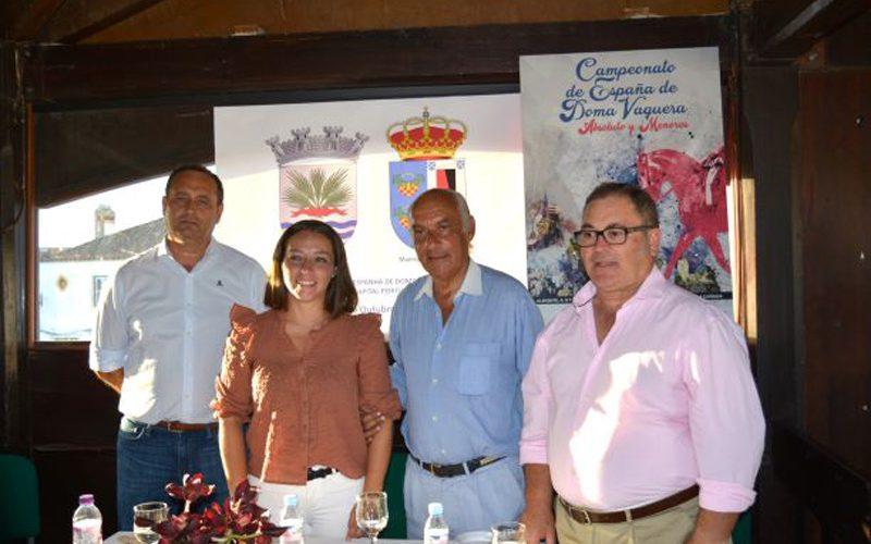 Campeonato de Espanha de Dona Vaquera apresentado na Golegã