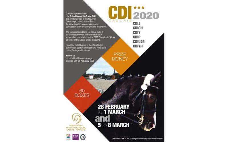 Cascais recebe a terceira edição do CDI3* em 2020