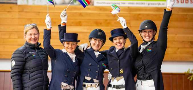 South Africa clinches final Olympic team Dressage slot in Exloo