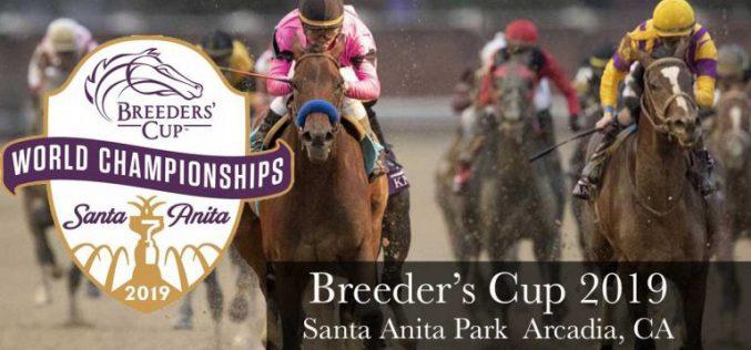 Breeders' Cup regressa ao Hipódromo Santa Anita