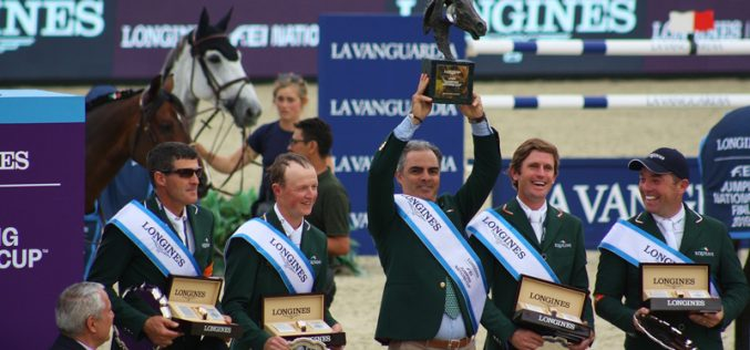 CSIO Barcelona: Irish take 2019 title and Tokyo qualifying spot