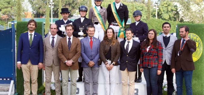 Vencedores do Open de Dressage 2019
