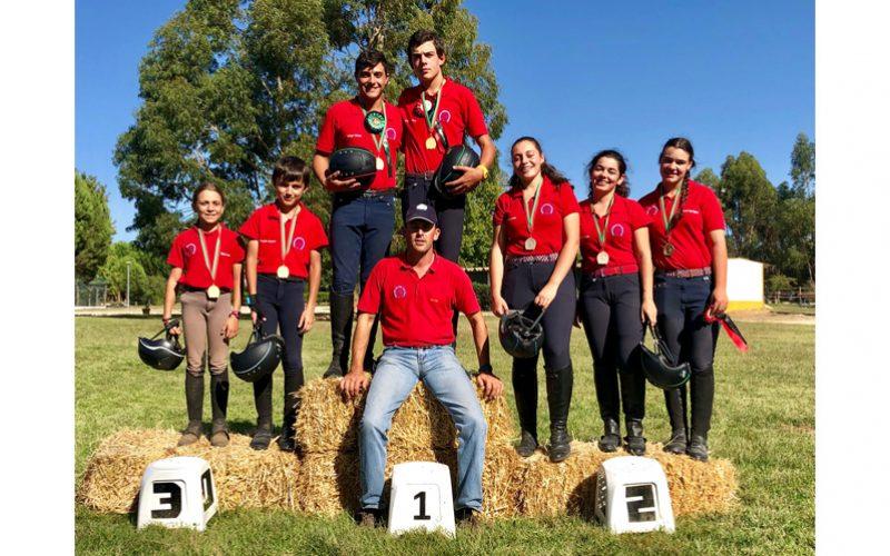 Vencedores do Campeonato Nacional de TREC 2019
