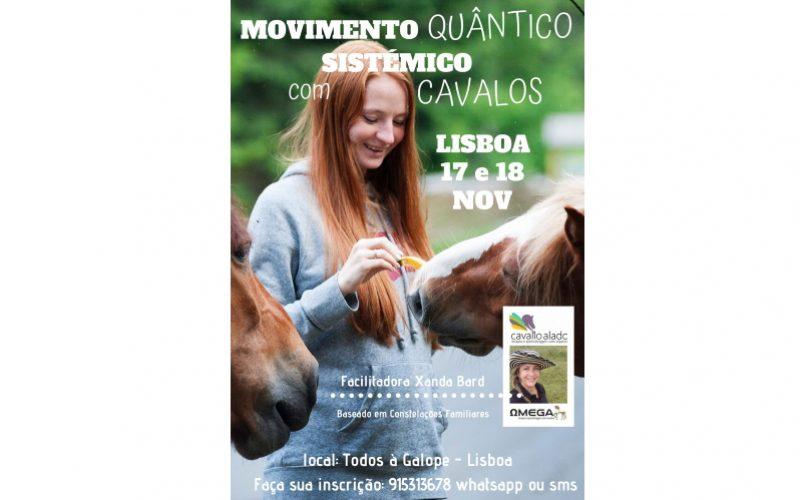 Workshop: Movimento quântico sistémico com cavalos