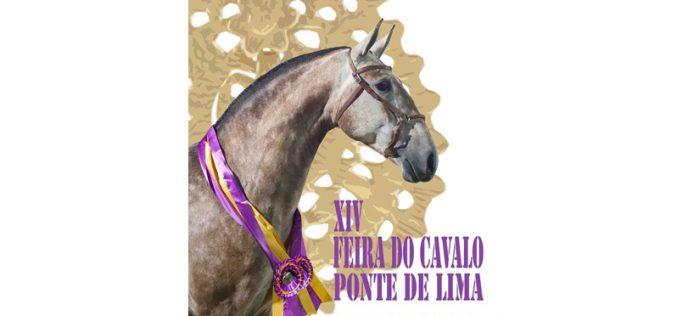 Golegã: Cartaz da Feira do Cavalo de Ponte de Lima 2020 na Feira Nacional do Cavalo