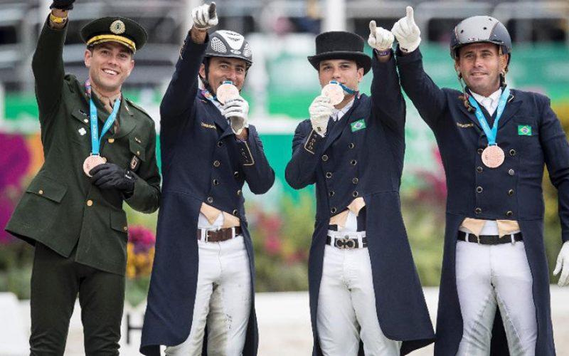 Selecção brasileira de Dressage fora dos Jogos Olímpicos 2020