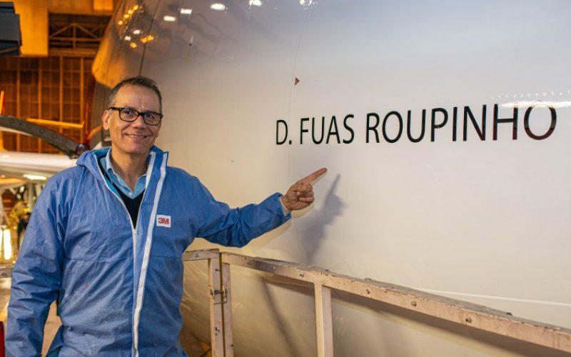 D. Fuas Roupinho dá nome ao novo Airbus A330neo da TAP