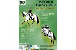 «IX Festival Hípico da EPADD» em Dezembro