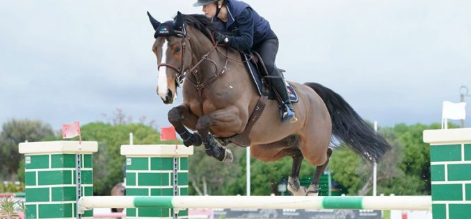 Vilamoura Atlantic Tour 2020: Britânicos dominam nos Cavalos Novos