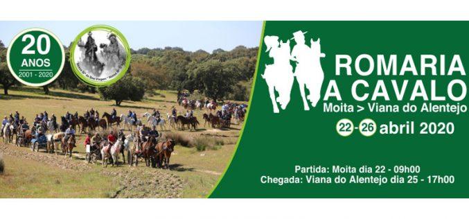 Romaria a Cavalo Moita – Viana do Alentejo celebra 20 anos