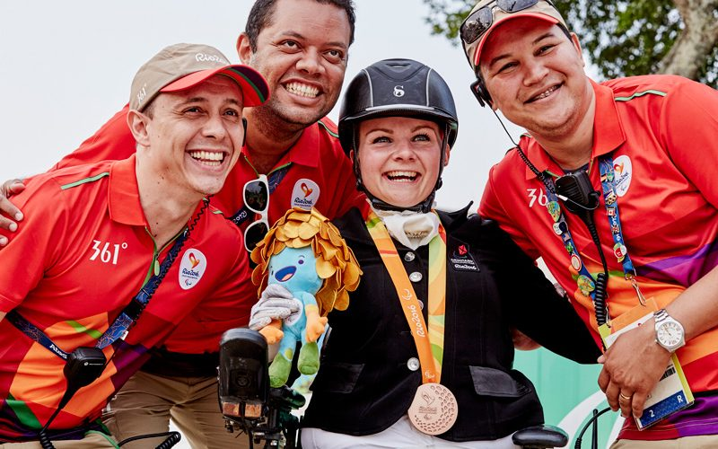 Fifteen para-equestrian nations earn team slot for Tokyo 2020