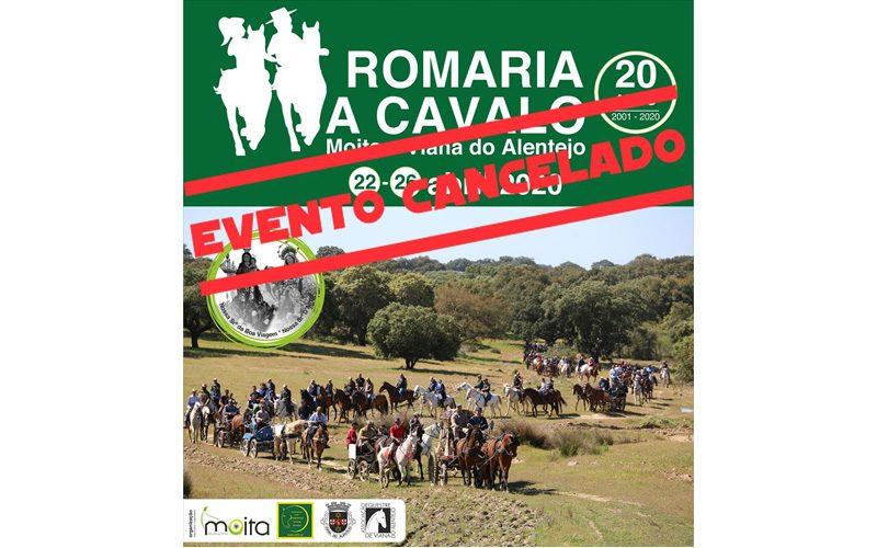 Romaria a Cavalo Moita-Viana do Alentejo cancelada