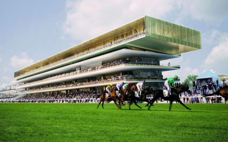 Hipódromo de Longchamp em Paris tem marca portuguesa