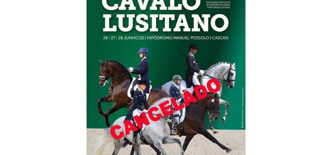 Covid-19: Festival Internacional do Cavalo Lusitano 2020 cancelado
