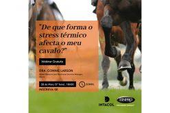 """Inscreva-se no Webinar gratuito """"De que forma o stress térmico afecta o seu cavalo?"""""""