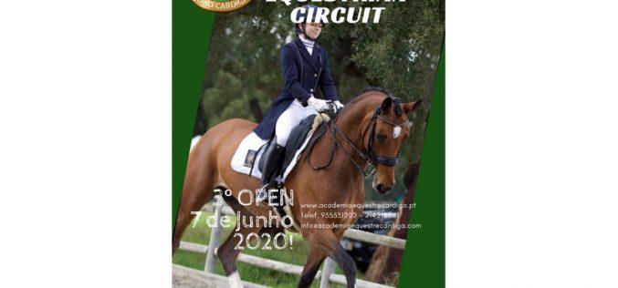 3º OPEN – Cardiga Equestrian Circuit – Marcado para 7 de Junho 2020