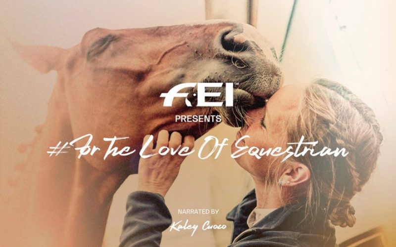 Kaley Cuoco makes a Big Bang to connect the equestrian community