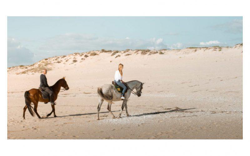 Turismo equestre: Horses by The Beach faz passeios em Melides
