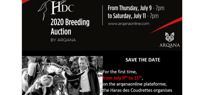 First HDC breeding auction online by Arqana